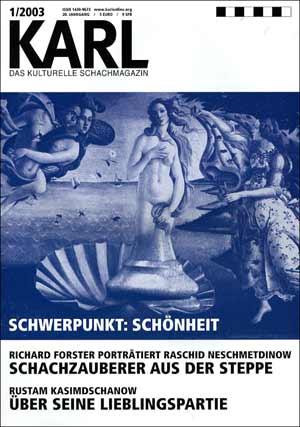 Karl-Schwerpunkt Schoenheit Cover