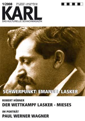 Karl-Schwerpunkt Lasker Cover