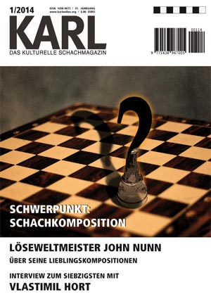 Karl-Schwerpunkt Schachkomposition Cover