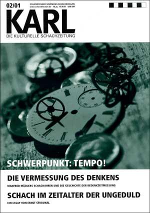 Karl-Schwerpunkt Tempo Cover