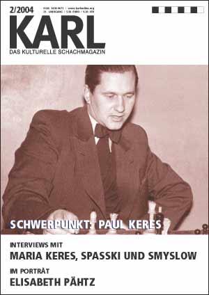 Karl-Schwerpunkt Keres Cover