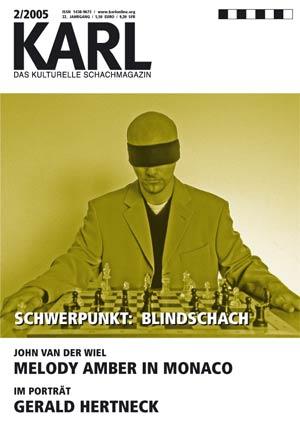 Karl-Schwerpunkt Blindschach Cover