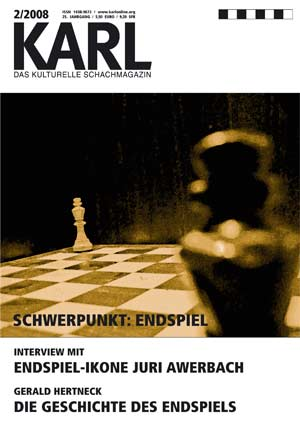 Karl-Schwerpunkt Endspiel Cover