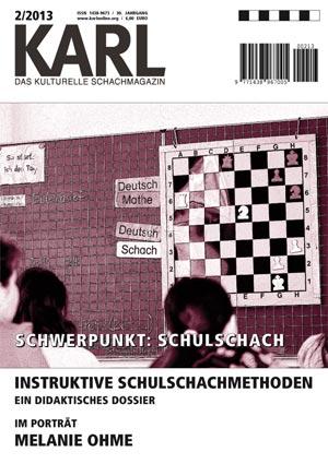 Karl-Schwerpunkt Schulschach Cover