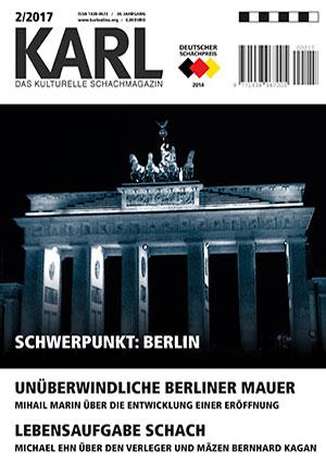 Karl-Schwerpunkt Berlin Cover