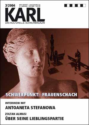 Karl-Schwerpunkt Frauenschach Cover