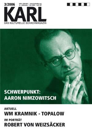Karl-Schwerpunkt Nimzowitsch Cover