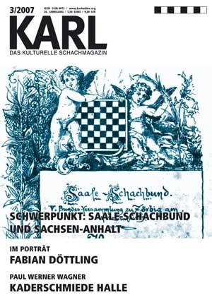 Karl-Schwerpunkt Saale Schachbund und Sachsen Anhalt Cover