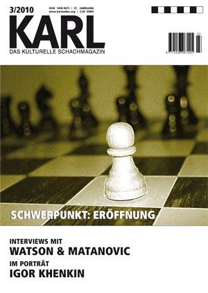 Karl-Schwerpunkt Eroeffnung Cover
