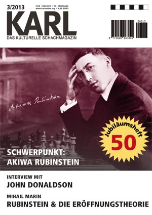 Karl-Schwerpunkt Rubinstein Cover