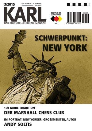 Karl-Schwerpunkt New York Cover