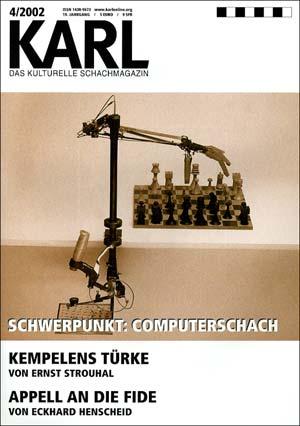 Karl-Schwerpunkt Computerschach Cover