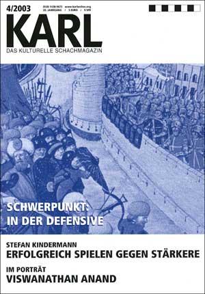 Karl-Schwerpunkt Defensive Cover