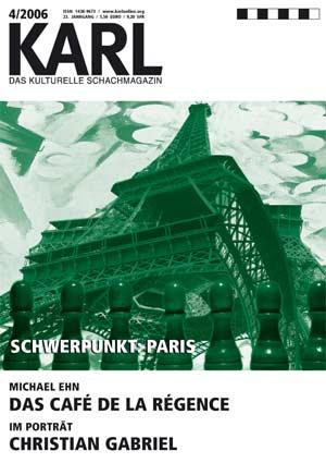 Karl-Schwerpunkt Paris Cover