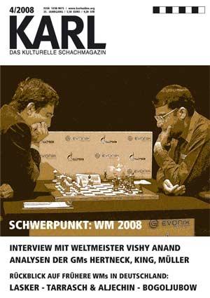 Karl-Schwerpunkt WM 2008 Cover