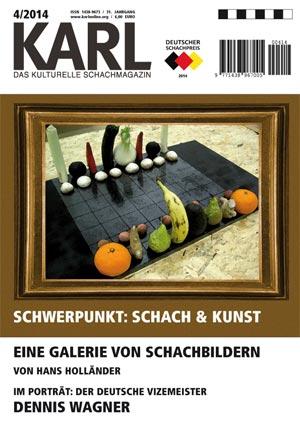 Karl-Schwerpunkt Schach und Kunst Cover