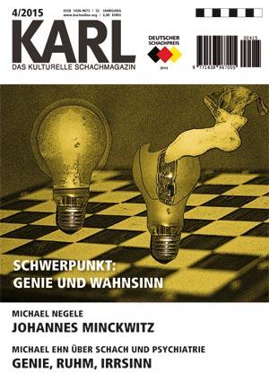 Karl-Schwerpunkt Genie und Wahnsinn Cover