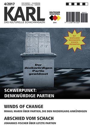 Karl-Schwerpunkt Denkwürdige Partien Cover
