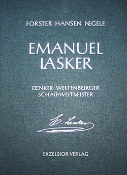 Emanuel Lasker Monographie Cover