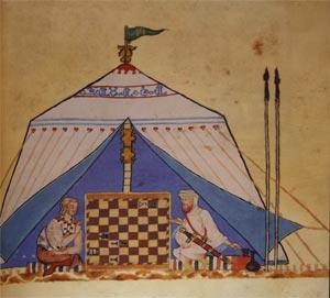 """Spielebuch von Alfons X. """"dem Weisen"""" 02"""