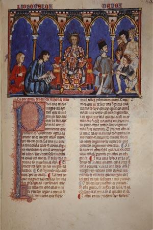 """Spielebuch von Alfons X. """"dem Weisen"""" 03"""