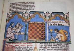 """Spielebuch von Alfons X. """"dem Weisen"""" 04"""