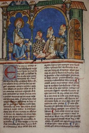 """Spielebuch von Alfons X. """"dem Weisen"""" 05"""