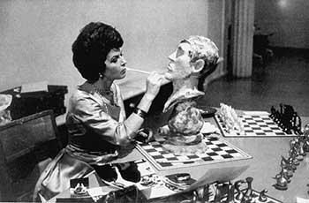 Bobby Fischer Büste