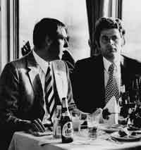 Schackmann und Spasski 1973 in Dortmunder