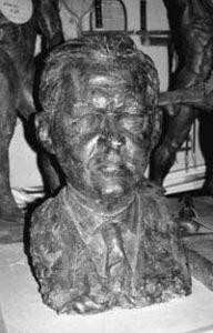 Bronze-Büste Paul Keres