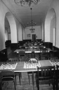 Spielsaal im Keres Memorial Haus in Tallinn
