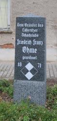 Gedenkstein für Ohme