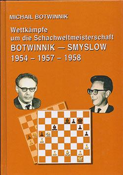 WM-Buch Botwinnik - Smyslow Cover