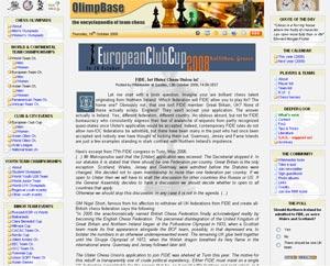olimpbase Website