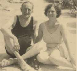 Frank Marshall mit Frau