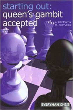 Raetsky Queens Gambit Accepted Cover