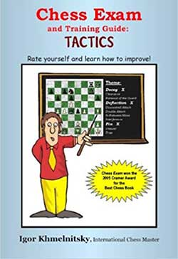 Chess Exam and Training Guide: Tactics Cover
