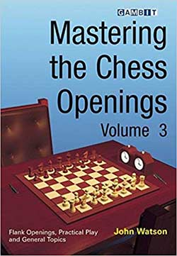 Watson Materng Chess Openings Vol 3 Cover