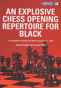Explosive Chess Opening Repertoire Cover