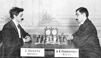 Lasker - Rubinstein, St. Petersburg 1909