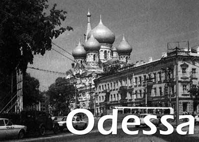 Odessa Postkarte