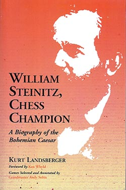 William STeinitz Chess Champion Cover
