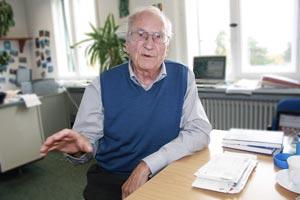 Fernschachweltmeister Fritz Baumbach