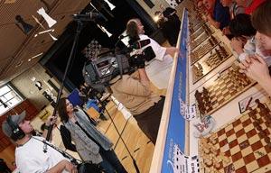 Marc Lang Blindschach-Weltrekord 14