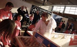 Marc Lang Blindschach-Weltrekord 13 Keilhack1