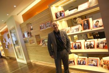 Eric van Reem in Chennai