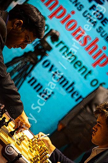 WM Chennai 2013, Anand - Carlsen