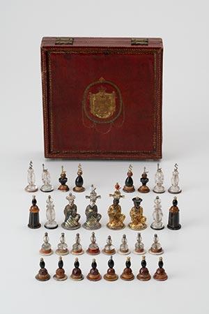 Schachfigurenset des Herzog Carl Eugens von Württemberg