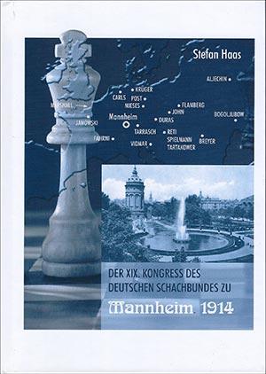 Titelcover XIX. Kongress des Deutschen Schachbundes zu Mannheim 1914