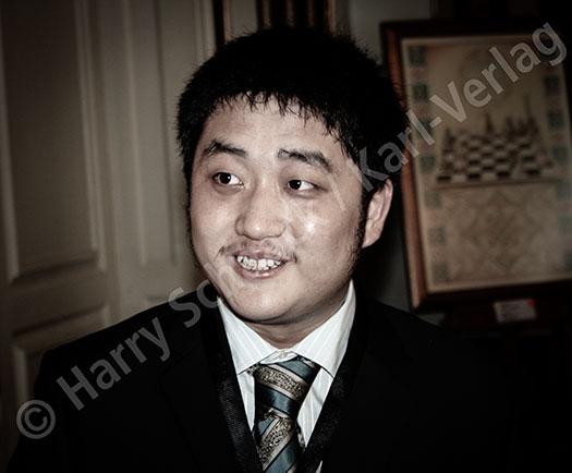Wang Yue, der die WM 2010 in Sofia besuchte